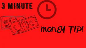 3 Minute Money Tip - Janine Bolon